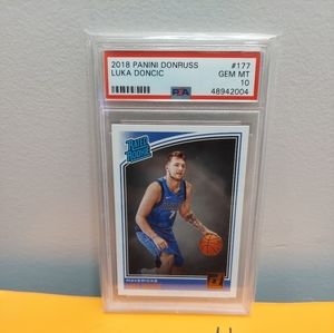 2018-19 Donruss Rated Rookie Luka Doncic PSA 10!